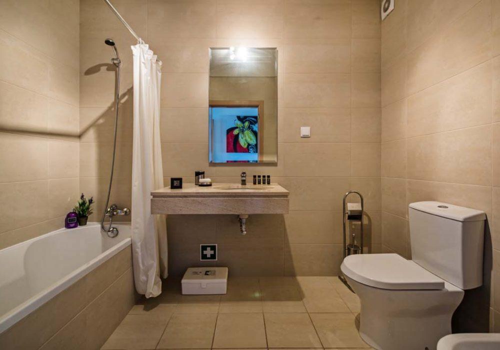 Shared-bathroom